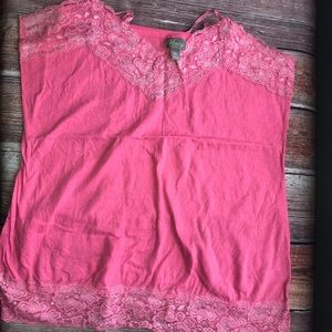 Cute layering Lacey tank top